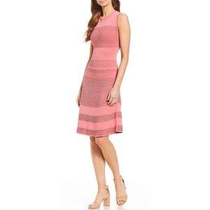 Antonio Melani coral knit sleeveless dress